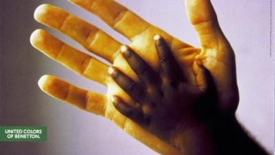 Benetton - Black and White Hand