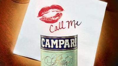 Campari Bitter - Red Invitation