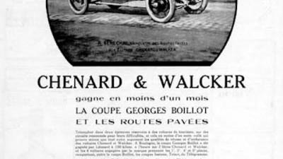 Chenard and Walcker - 1924