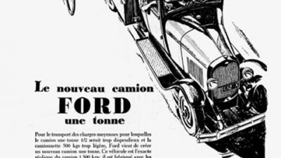 Ford - 1 Ton Truck Debut - 1930