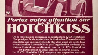 Hotchkiss Sedan - 1928