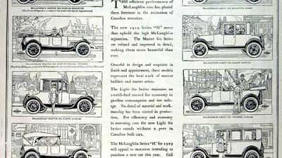 Mclaughlinline Cars - 1919