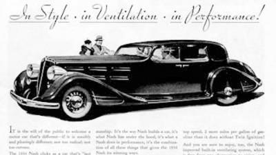Nash Sedan - 1934