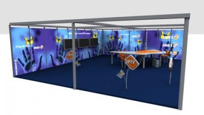 Ines IPTV - Stand CERF 2005
