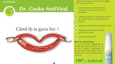 Dr.Geske Antiviral - Ardei iute