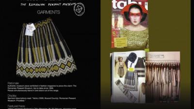 The Romanian Peasant Museum - Tabu Magazine: Categoria Innovative Media