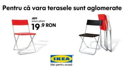 IKEA - Terasele sunt aglomerate