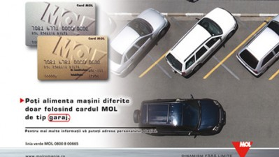 MOL - postere promovare sistem de plata prin card 2005