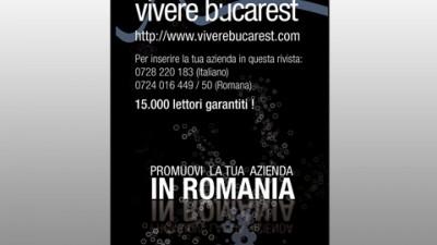 Revista Vivere Bucarest - Promovare firme