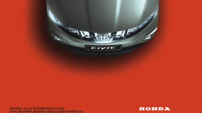 Honda - Hatchback Rosu