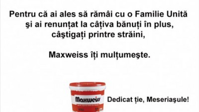 Maxweiss - Familia Unita