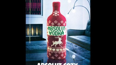 Absolut Vodca - Absolut Cozy