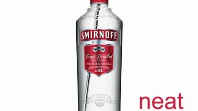 Smirnoff - Vodka nr. 1 in lume