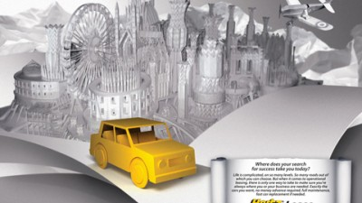 HertzLease - The Yellow car