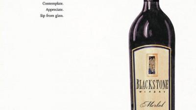 Blackstone Winery - Relax