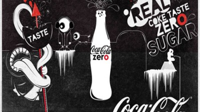 Coke Zero - Tongue