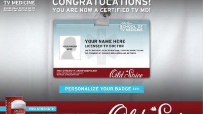 Old Spice - Personalize