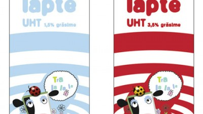 Rewe Romania - Packaging Laptina