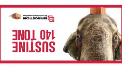 Brikston - Elefantul (OOH)