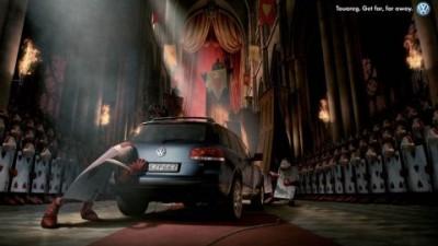 Volkswagen Touareg - Alice in wonderland