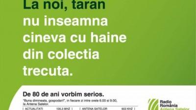 Radio Romania - Taran nu inseamna cineva cu haine din colectia trecuta