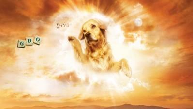 Scrabble - Dog-God (Gold)