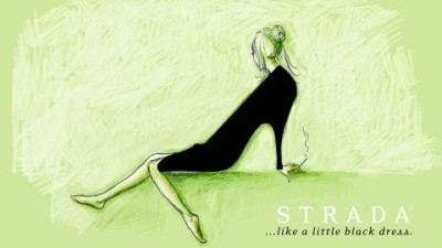 Strada shoes - LBD (Silver Drum)