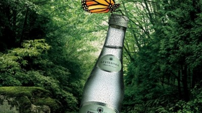 Pedras Water - Made and Brought to you by nature - Butterfly