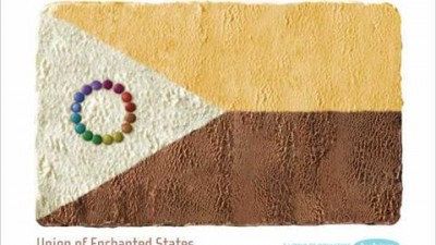 Dodoni Ice Cream - Delicious flags - Union of Enchanted States
