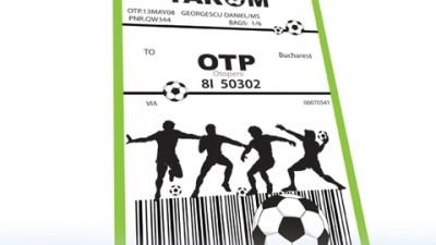 Tarom - Bilet - Fotbal