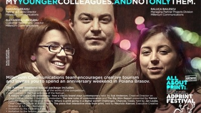 AdPrint Weekend 2009 - Dan Ungureanu, Alexandra Lungeanu, Raluca Bailescu