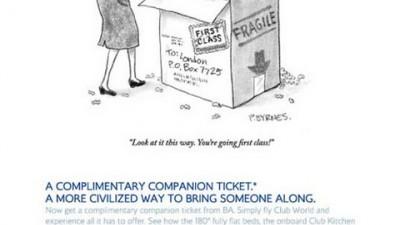 British Airways - First Class