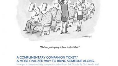 British Airways - Overhead Compartment