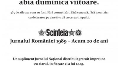 Jurnalul National - Numar cu sot