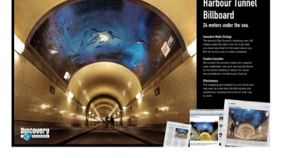 Discovery Channel - The Elbe Tunnel aquarium