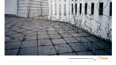Stihl International - Hard Stuff - Barbed wire
