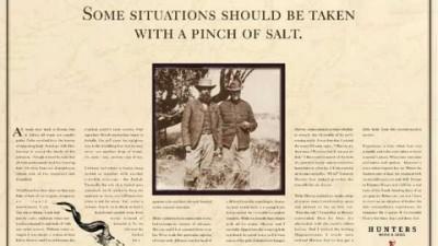 Hunters Restaurant - Pinch Of Salt