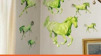Bell Bucharest - Green Horses