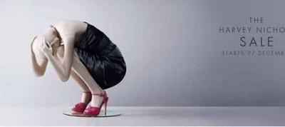 Harvey Nichols - Crouching
