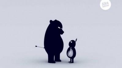 Alka Seltzer - Dissolve your problems - Bear