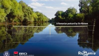 BRD - Romania-Land of choice - Postcard Ilie Nastase