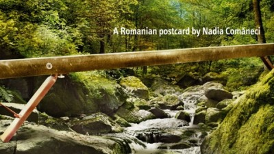 BRD - Romania-Land of choice - Postcard - Nadia Comaneci