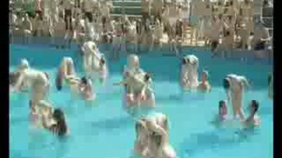 T-Mobile - Pool - Synchronized swimming