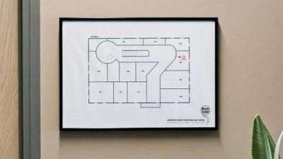 Gay Hotel Black Tulip - Floormap