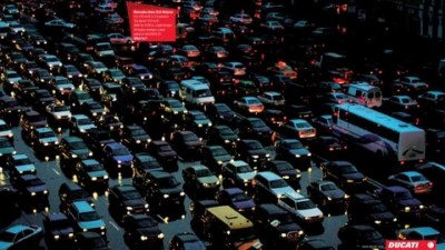 Ducati - Traffic jam