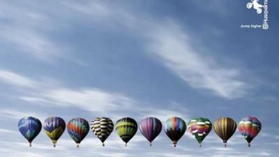 Husqvarna Motorcycles - Balloons
