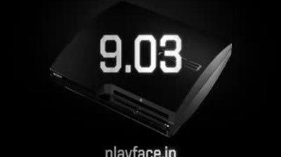Sony PlayStation 3 Slim - The Play Face