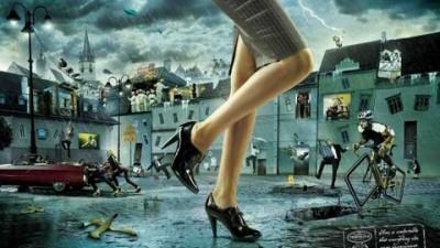 Tervolina shoes - Inconvenient world