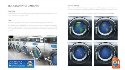 Tide Coldwater - Save Energy. Save the Earth