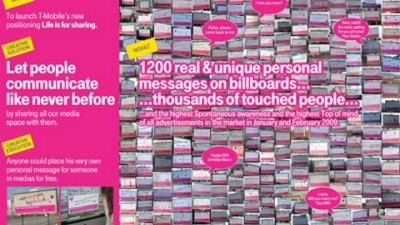 T-Mobile - Outdoor Messages